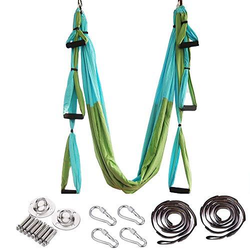 ARNTY Yoga Hängematte Set Aerial,Aerial Yogatuch,Aerial Yoga Hammock Swing mit Tragetasche und...