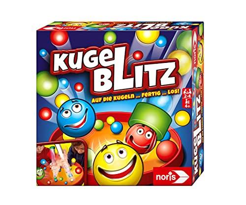 Noris 606064480 Kugelblitz, das blitzschnelle Actionspiel mit Lerneffekt in verschiedenen Spielvarianten, ab 4...