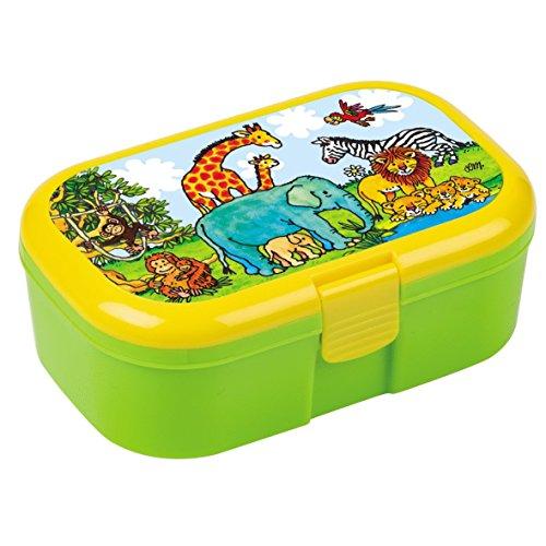 Lutz Mauder Lunchbox Zoo mit herausnehmbaren Obst und Gemüsefach