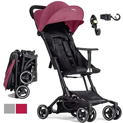 Kinderwagen Piuma0+ Ultra leichter 2.0 Reiseliegestuhl Superausgestattet Von 6 Monaten Bis 25 Kg Kompakt Und...