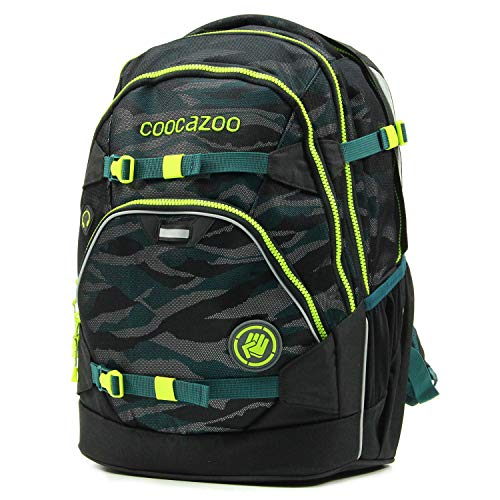 Coocazoo Schulrucksack ScaleRale Camou EffectiveReflective