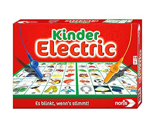 Noris 606013702 Kinder Electric Der Lernspiel-Klassiker, was passt zusammen, Es blinkt, wenn's stimmt, ab 4...