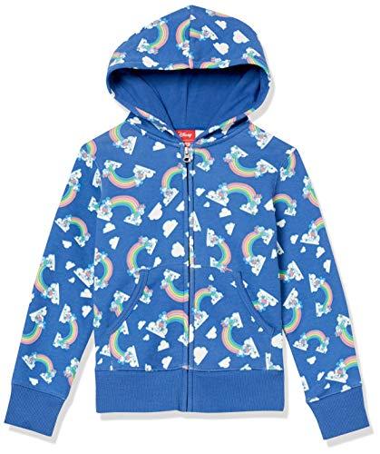Spotted Zebra Disney Star Wars Marvel Frozen Princess Fleece Zip-up Sweatshirt Fashion-Hoodies, Mickey...