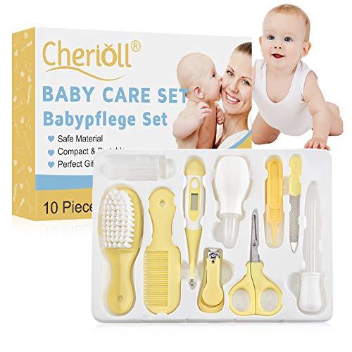 Babypflege Set, Baby Erstausstattung Pflegeset, 10Pcs Baby Healthcare Kit, Babypflegeset, Safety Cutter Baby...