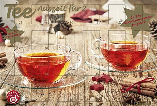 Tee-Adventskalender für Zwei 2020 - 56x38x2cm - Teeadventskalender - Teekanne