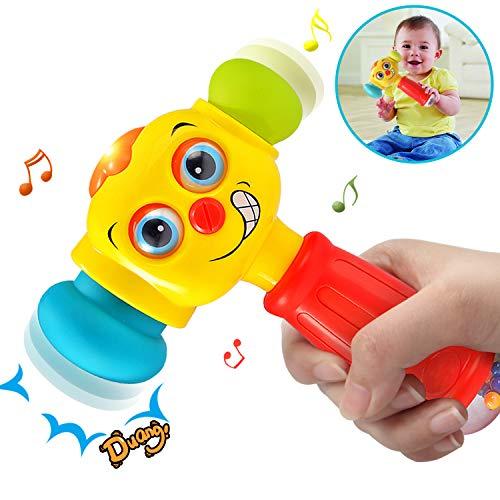 ACTRINIC-Direct Baby-Spielzeug für 12-18 Monate lustige Veränderbare Hammer mit Multifunktions,Lichter und...