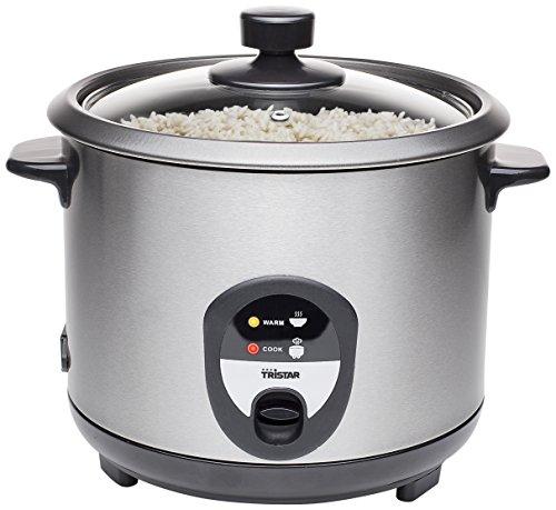 Tristar RK-6127 Reiskocher, 1,5L, Reis für bis zu 10 Personen ohne Anbrennen, Mit Warmhaltefunktion, 500W,...