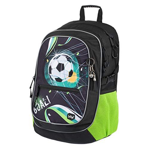 Baagl Schulrucksack für Jungen - Schulranzen für Kinder mit ergonomisch geformter Rücken, Brustgurt und...