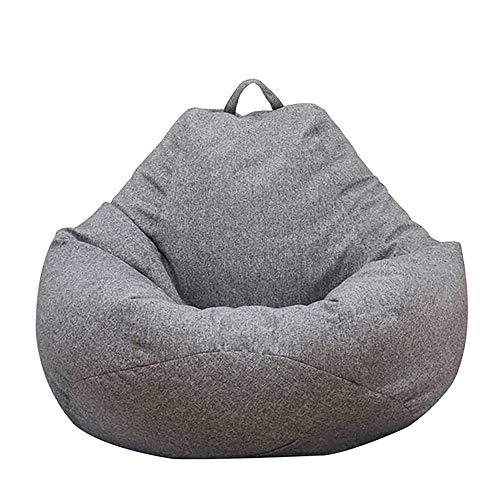 Ghopy Sitzsack für Erwachsene und Kinder, Wohnzimmer-Sitzsack, Riesensitzsack ohne Füllung aus Stoff, für...