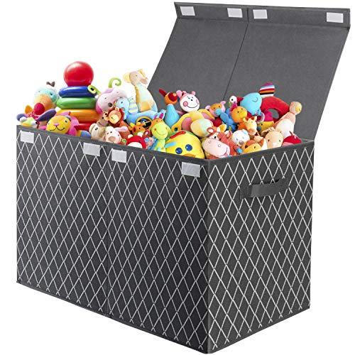 Spielzeugkiste mit Deckel Aufbewahrungsbox Kinder Spielzeugtruhe ,Faltbarer Aufbewahrung für...