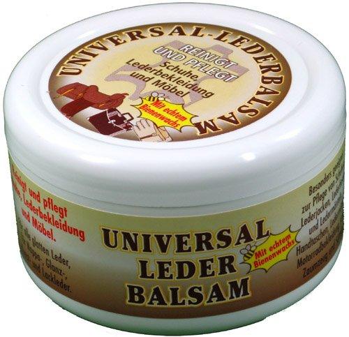 Universal Lederbalsam 250ml mit echtem Bienenwachs zur Pflege und Reinigung von Zaumzeug Sättel Schuhe...