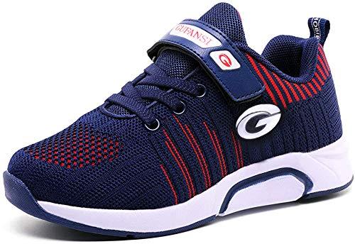 GUFANSI Sportschuhe Kinder 33 Schuhe Jungen Turnschuhe Mädchen Laufschuhe Hallenschuhe Leicht Atmungsaktiv...
