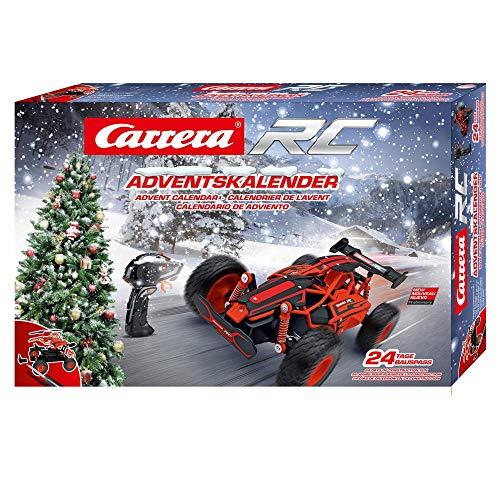 Carrera RC Adventskalender 2,4 GHz Buggy, Rot │ Ferngesteuertes Auto aus 24 Bauteilen bauen...