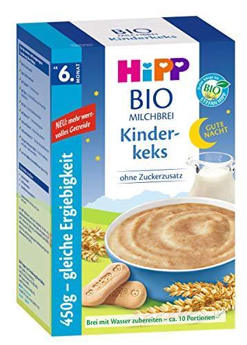 Hipp Gute-Nacht-Brei Kinderkeks ab dem 6. Monat, 450g, 450g