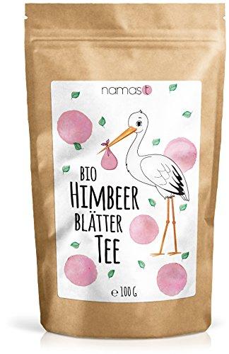 Himbeerblättertee BIO 100g - naturbelassen - 100% biologische Premium Qualität - Genuss von Himbeerblätter...