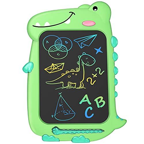 Kinder Spielzeug Jungen LCD Schreibtafel - Kinder Geschenke für Jungen Bunte Schreibtafel, Elektronisch 10...