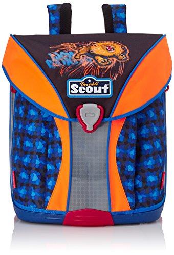 Scout 71500775000 Nano Schulranzen-Set, Schwarz/Blau
