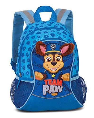 PawPatrol Kindergartenrucksack Jungen – Kinderrucksack für Jungen von 3-6 Jahren mit abstehenden Stoffohren...