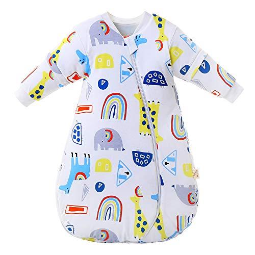 Baby Winter schlafsack Kinder schlafsack 2.5-3.5 Tog Schlafsaecke aus Bio Baumwolle Verschiedene Groessen von...