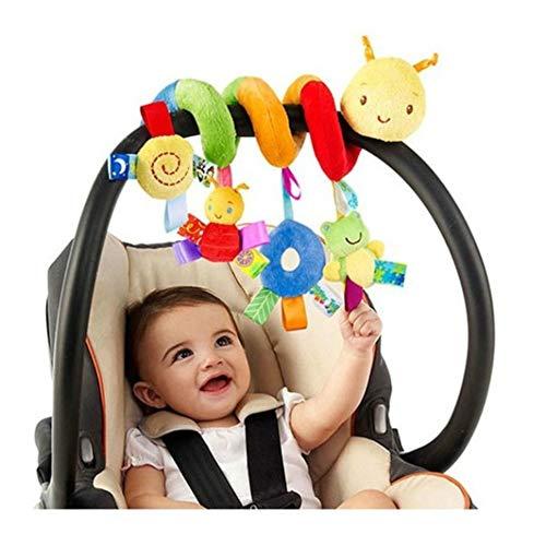 BSTiltion Babyschale Spielzeug, Baby Activity-Spirale Kette Kinderwagen Spielzeug Mädchen Junge Spirale...