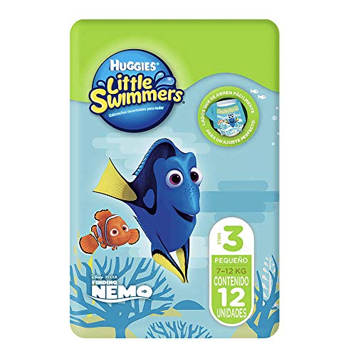 Huggies Little Swimmers, Größe 3/4, 2er Pack (2 x 12 Stücke)