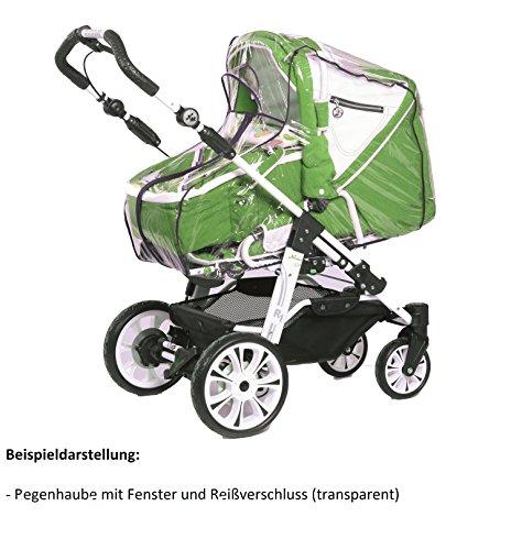 Regenverdeck PVC-frei Universal Regenschutz Regenhaube für Kinderwagen
