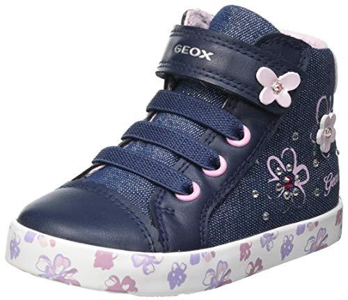 Geox Baby-Mädchen B Kilwi Girl C Sneaker, AVIO/PINK, 24 EU