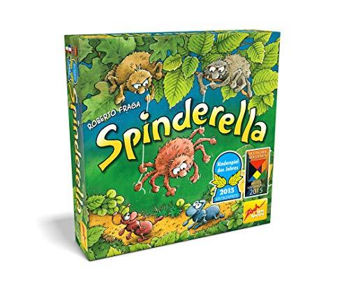 Zoch 601105077 - Spinderella - Kinderspiel des Jahres 2015 - kindgerechtes Wettlaufspiel in unterschiedlichen...