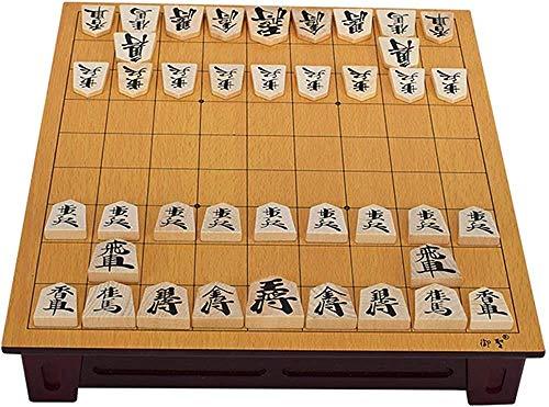 Schach-Set Brettspiel für Kinder Erwachsene Erzwürdige Holz Japan Shogi 27 25 5 cm 40 teile / set...
