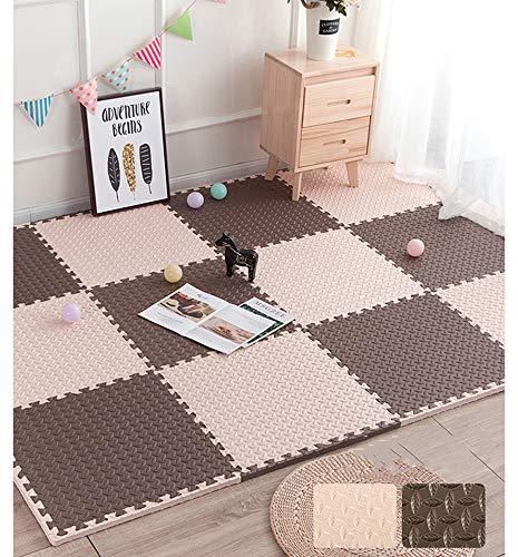 lulupila Puzzlematten Spielmatten Krabbelmatten Spielteppich Schutzmatten 20er Set Matte Unterlegmatten...