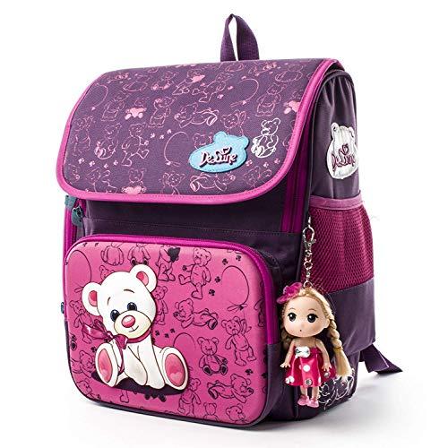 Schul Ranzen Mädchen,Schulrucksack Kinderrucksack Taschen,Rucksack School Kinderrucksäcke,Ergonomischer...