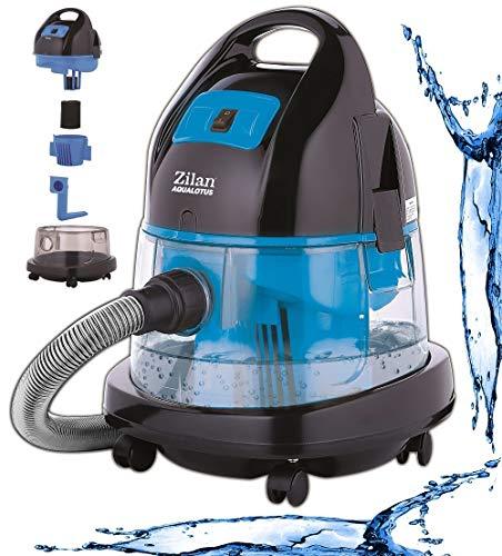 Zilan Staubsauger | 2.000 Watt | Wasser Staubsauger | Bodenstaubsauger | Staubsauger mit Wasserfilter | Für...