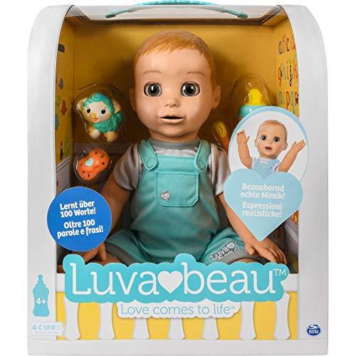 Luvabella Luvabeau, interaktive Jungen - Puppe mit Sprachfunktion - DEUTSCHE Version