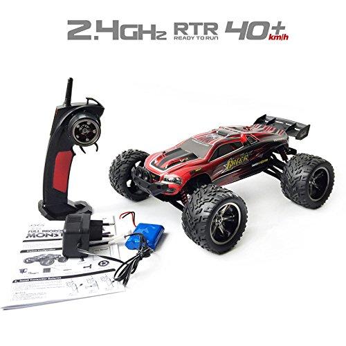 GoStock Ferngesteuertes 1:12 Skala 2,4 Ghz RC Racing Buggy Monstertruck Offroad Crawler Mit 80M Entfernung...