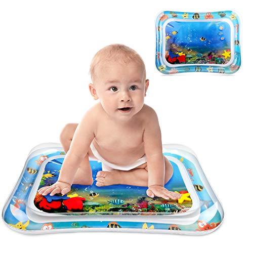 Neueste Wassermatte Baby Spielzeug ab 3 6 9 Monate Wasserspielmatte Baby Bpa Frei Wassermatte für Baby...