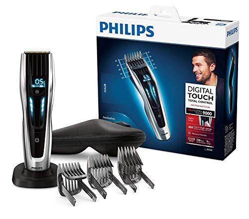 Philips HC9450/20 Haarschneidemaschine für Zuhause mit 400 Längeneinstellungen, langlebige Titaniumklingen,...