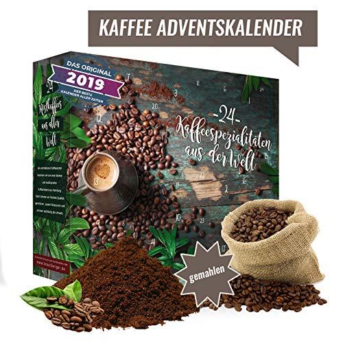 Weihnachtskalender mit 24 Kaffees aus aller Welt