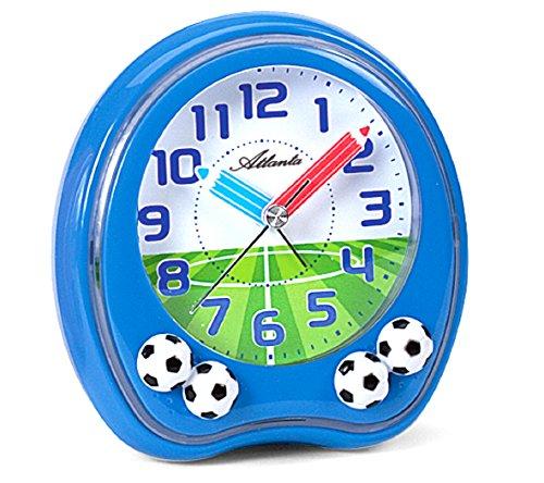 Atlanta Kinderwecker Fußball Blau - 1719-5