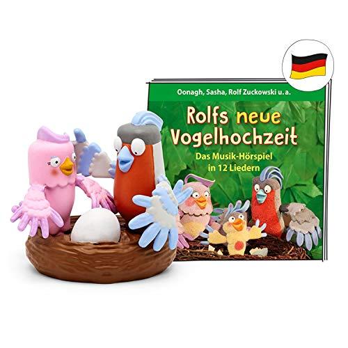 tonies Hörfiguren für die Toniebox - Rolf Zuckowski – Rolfs Neue Vogelhochzeit Figur - ca. 36 Minuten ab 3...