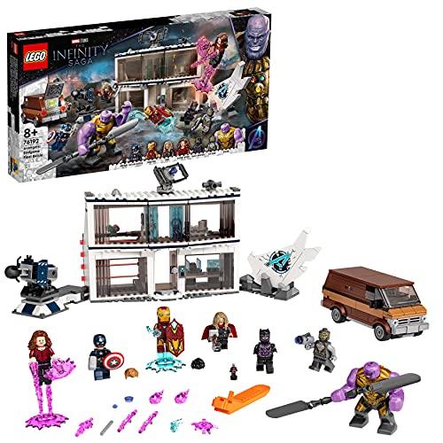 LEGO 76192 Marvel Super Heroes Avengers: Endgame - Letztes Duell Set, Spielzeug für Kinder ab 8 Jahren mit...