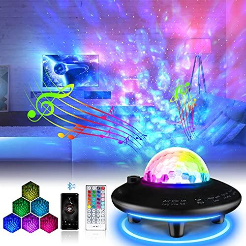 LED Sternenhimmel Projektor mit Nachtlichtm,Sternenlicht Projektionslampe mit...