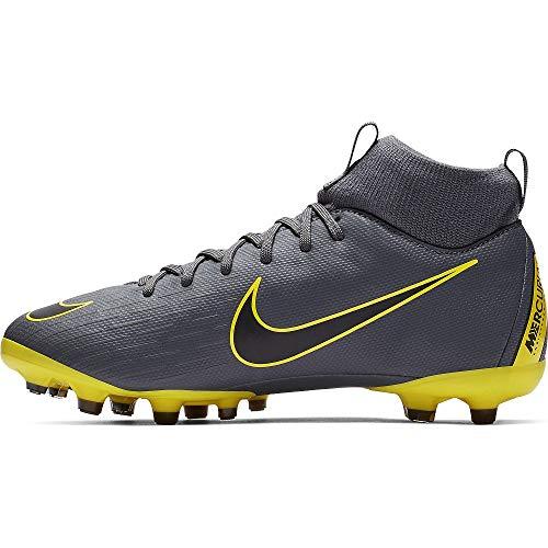 Nike Superfly 6 Academy MG Fußballschuhe, Grau (Dark Grey/Black/Dark Grey 070), 38.5 EU