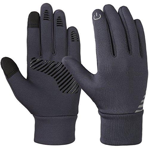 Vbiger Kinder Handschuhe Winterhandschuhe Radhandschuhe Leichte Anti-Rutsch Laufen für Jungen und Mädchen,...