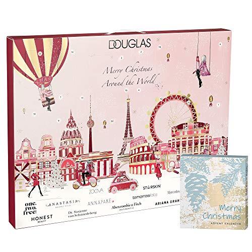 Douglas Beauty Adventskalender 2020 Merry Christmas Around the World im Wert von 300€ mit Mini...