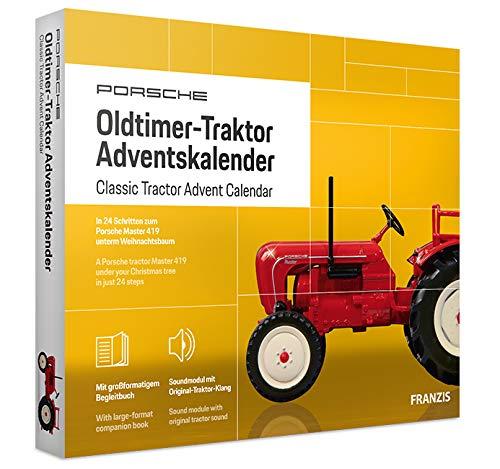 FRANZIS Porsche Traktor Adventskalender 2020 | In 24 Schritten zum Oldtimer-Traktor unterm Weihnachtsbaum | Ab...