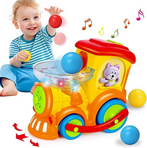 ACTRINIC Baby Spielzeug 18 Monate, Früher pädagogischer Elektrischer Zug mit...