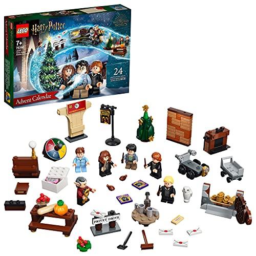 LEGO 76390 Harry Potter Adventskalender 2021 Spielzeugset, Weihnachtsgeschenk für Kinder ab 7 Jahren mit 6...
