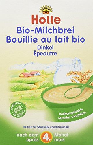 Holle Bio-Milchbrei Dinkel, 3er Pack (3 x 250 g)