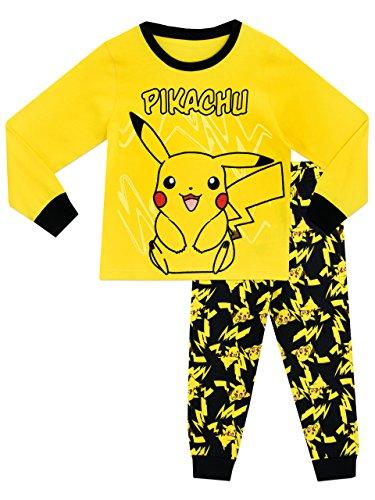 Pokemon Jungen Pikachu Schlafanzug Slim Fit