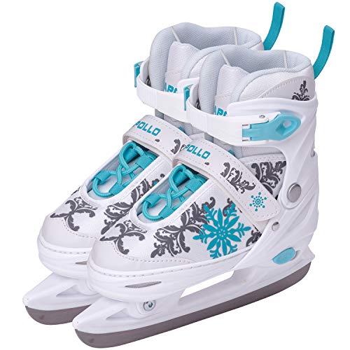 Apollo Ice Skates X Pro - verstellbare Schlittschuhe für Damen, Kinder und Jugendliche, schicke...